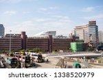 hung hom  kowloon  hong kong  ... | Shutterstock . vector #1338520979