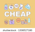 cheap word concepts banner....