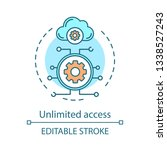 unlimited access advantage... | Shutterstock .eps vector #1338527243