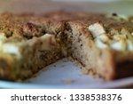 homemade healthy vegan oat... | Shutterstock . vector #1338538376