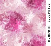 abstract tie dyed textured... | Shutterstock . vector #1338546503