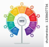 business presentation concept... | Shutterstock .eps vector #1338607736