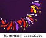 party flyer frame template.... | Shutterstock .eps vector #1338621110