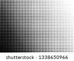 dots background. monochrome... | Shutterstock .eps vector #1338650966