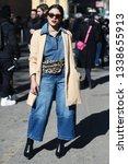 milan  italy   february 24 ... | Shutterstock . vector #1338655913