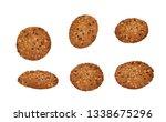 Oatmeal Cookies Sunflower Seeds Sesame - Fine Art prints