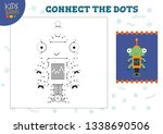 connect the dots kids game... | Shutterstock .eps vector #1338690506