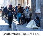 london   uk   3 february 2019 ... | Shutterstock . vector #1338711473