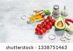 organic food. assortment of...