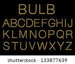 vector illustration of light... | Shutterstock .eps vector #133877639