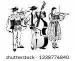 polish highlanders gorale... | Shutterstock . vector #1338776840