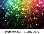 rainbow of lights | Shutterstock . vector #133879079