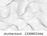 wave lines pattern abstract...   Shutterstock .eps vector #1338802466