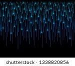 background with fiber optic... | Shutterstock .eps vector #1338820856