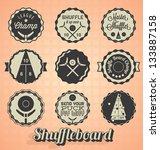 vector set  vintage...   Shutterstock .eps vector #133887158
