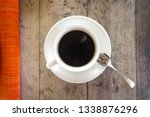 white coffee cup theme from... | Shutterstock . vector #1338876296