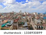 Aerial View Over Centro Havana...