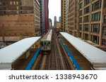 chicago  usa   march 13  2019 ... | Shutterstock . vector #1338943670