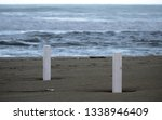 scenic view of an empty sandy...   Shutterstock . vector #1338946409