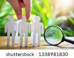 choose man model from group for ... | Shutterstock . vector #1338981830