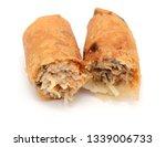 vietnamese egg roll food | Shutterstock . vector #1339006733