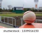 baseball ground watching from... | Shutterstock . vector #1339016150
