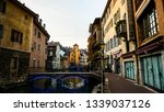 annecy historic french street... | Shutterstock . vector #1339037126