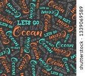 modern hand lettering about... | Shutterstock .eps vector #1339069589