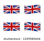united kingdom flag  national... | Shutterstock .eps vector #1339084646