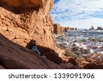 wide angle view of the inside... | Shutterstock . vector #1339091906