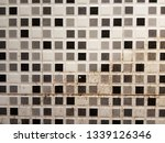 half clean and dirty white wall ... | Shutterstock . vector #1339126346