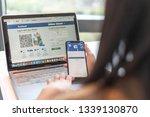 bangkok  thailand february 26 ... | Shutterstock . vector #1339130870