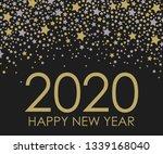 2020 happy new year.... | Shutterstock .eps vector #1339168040