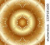 floral ornament brocade textile ... | Shutterstock .eps vector #1339181600