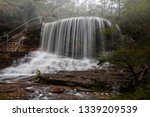 beautiful perfect flows cascade ... | Shutterstock . vector #1339209539