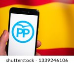 murcia  spain  mar 11  2019 ... | Shutterstock . vector #1339246106
