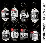 paper price tag retro vintage... | Shutterstock .eps vector #1339269200