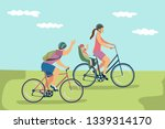 vector illustration of happy... | Shutterstock .eps vector #1339314170
