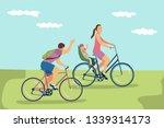 vector illustration of happy... | Shutterstock .eps vector #1339314173