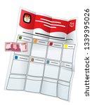 money politic indonesia election | Shutterstock .eps vector #1339395026