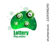 lottery realistic 3d objects... | Shutterstock .eps vector #1339398290