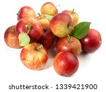Red Wild Apples   Fruits On...