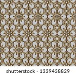 gold and colored texture. retro ... | Shutterstock .eps vector #1339438829