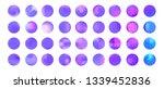 rounded violet stylish...