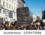 global strike for planet ... | Shutterstock . vector #1339473986