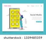 social media illustration for...