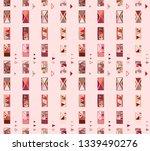 seamless vector geometrical... | Shutterstock .eps vector #1339490276