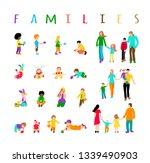 set multiracial kids and set... | Shutterstock . vector #1339490903