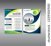 business abstract vector... | Shutterstock .eps vector #1339500500