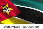 mozambique national flag... | Shutterstock . vector #1339507286